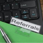 Referrals hanging file